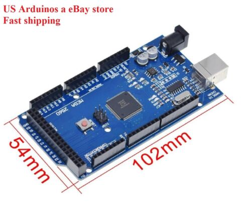 Arduino Mega 2560 R3 Compatible Board CH340G without USB Cable For DIY projects