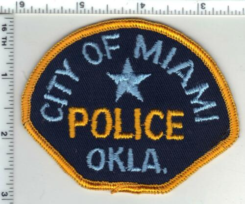 Miami Police (Oklahoma) 1st Issue Shoulder Patch from the 1970