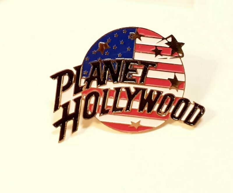 Lot Vintage Sealed Planet Hollywood 3 RENO Pins + 23 USA  Flag Pins