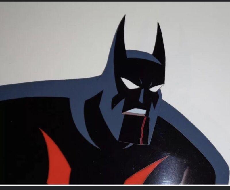 Batman Beyond Production Cel