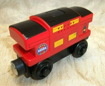 Thomas & Friends Fisher Price Wooden Railway MUSICAL CABOOSE Y4408 Train
