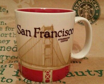Starbucks Coffee City Mug/Tasse SAN FRANCISCO, Global Icon Serie, NEU&unbenutzt!