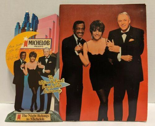 Ultimate Event Michelob Program Frank Sinatra Sammy Davis Jr. Liza Minelli