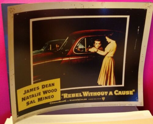 Natalie Wood photographic repro. print of lobby card REBEL WITHOUT A CAUSE