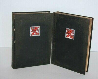 VINTAGE WORLD'S BEST HISTORIES England 1901 Vol 1 2 Antique Books Decor (Best World History Books)