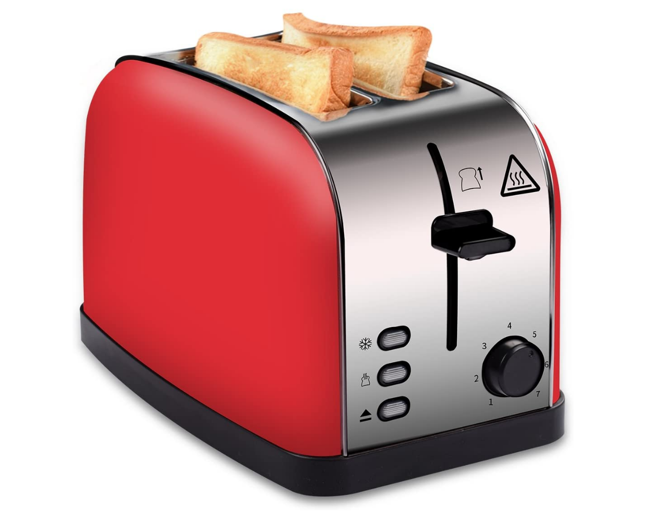 COSSCCI 2 Slot Toaster with a Slide-Out Crumb Tray.
