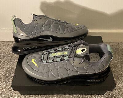 Nike Air Max MX 720-818 Trainers Grey / Volt UK 9 New