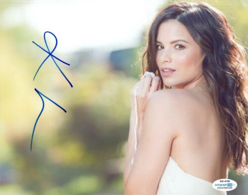 Katrina Law Signed Autographed 8x10 Photo Spartacus Arrow Actress ACOA COA