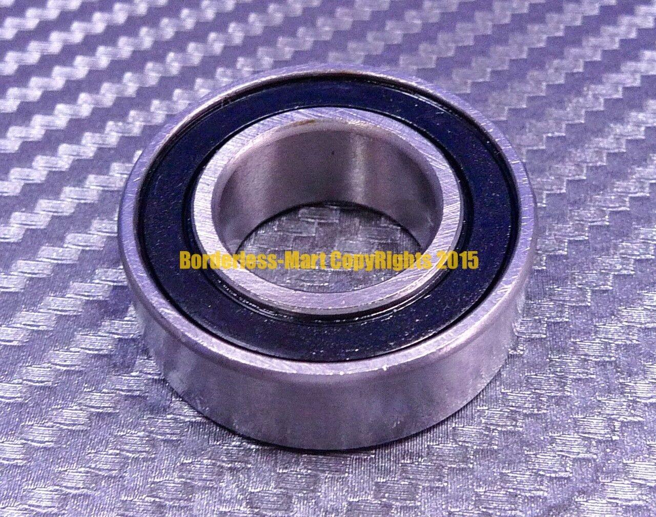 [5 Pcs] 15267-2RS (15x26x7 mm) Rubber Sealed Ball Bearing Bearings 15267RS BLACK