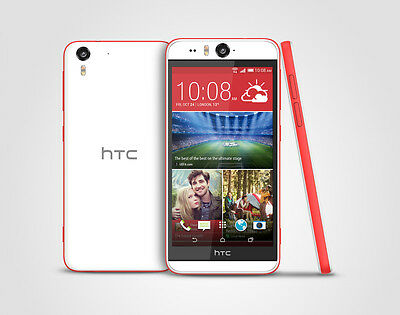 HTC Desire Eye 0PFH100 16GB GSM Unlocked 4G LTE Smartphone-Coral Reef-Excellent