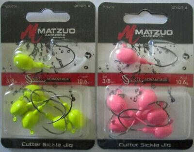 MATZUO Weedless Ned Style Rigs 1//16 oz 4//Pk 2 - Green Pumpkin /& Black//Red