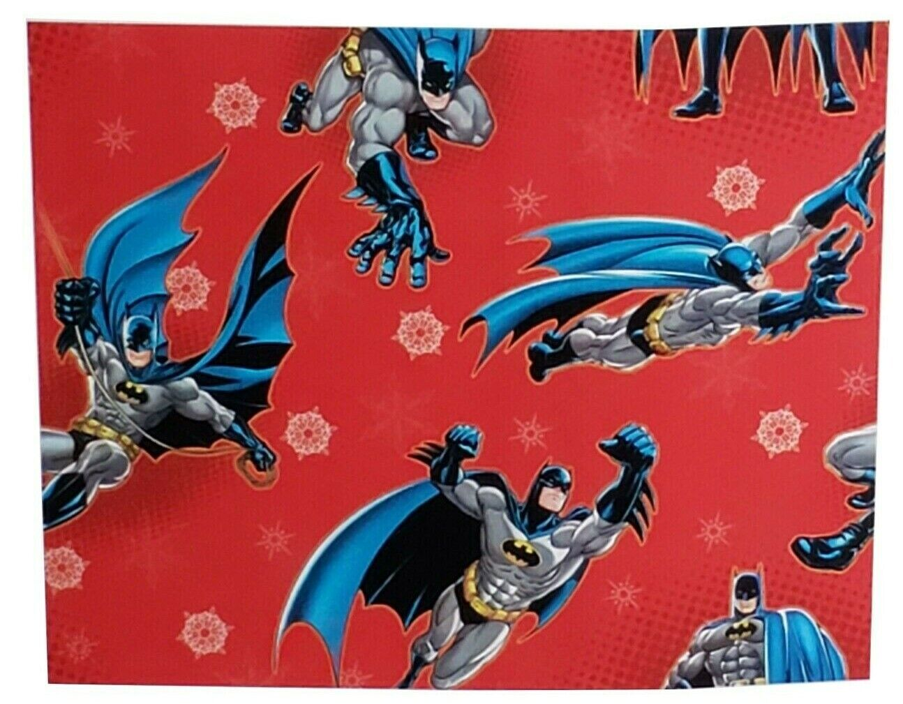 Hallmark DC Comics Batman Xmas Wrap Christmas Wrapping Paper