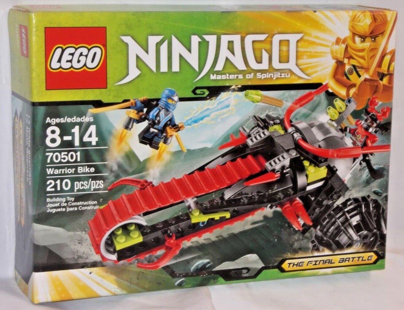 ✔️ SEALED 70501 LEGO Ninjago WARRIOR BIKE Blue Ninja Jay Final Battle 210pc RETIRED ? купить