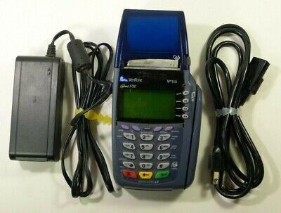 Verifone Omni 3730 Credit Card Machine With 6 Rolls Of Paper