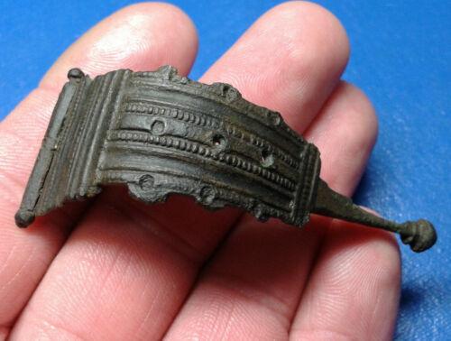 Celtic Ancient Bronze Fibula.