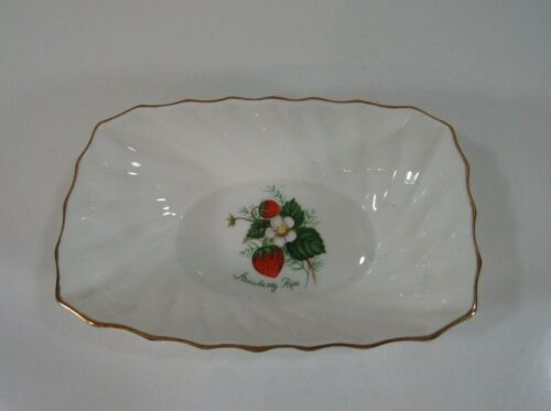 "Adderley ""Strawberry Ripe"" Small Bowl"