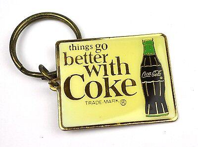 Coca-Cola USA Schlüsselanhänger Key Chain Coke - Motiv: Flasche