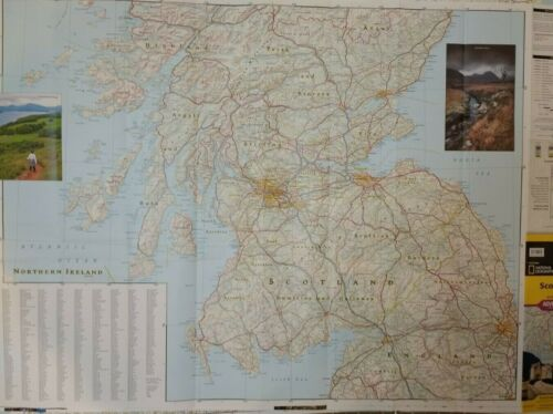 Scotland Laminated Wall Map (K)