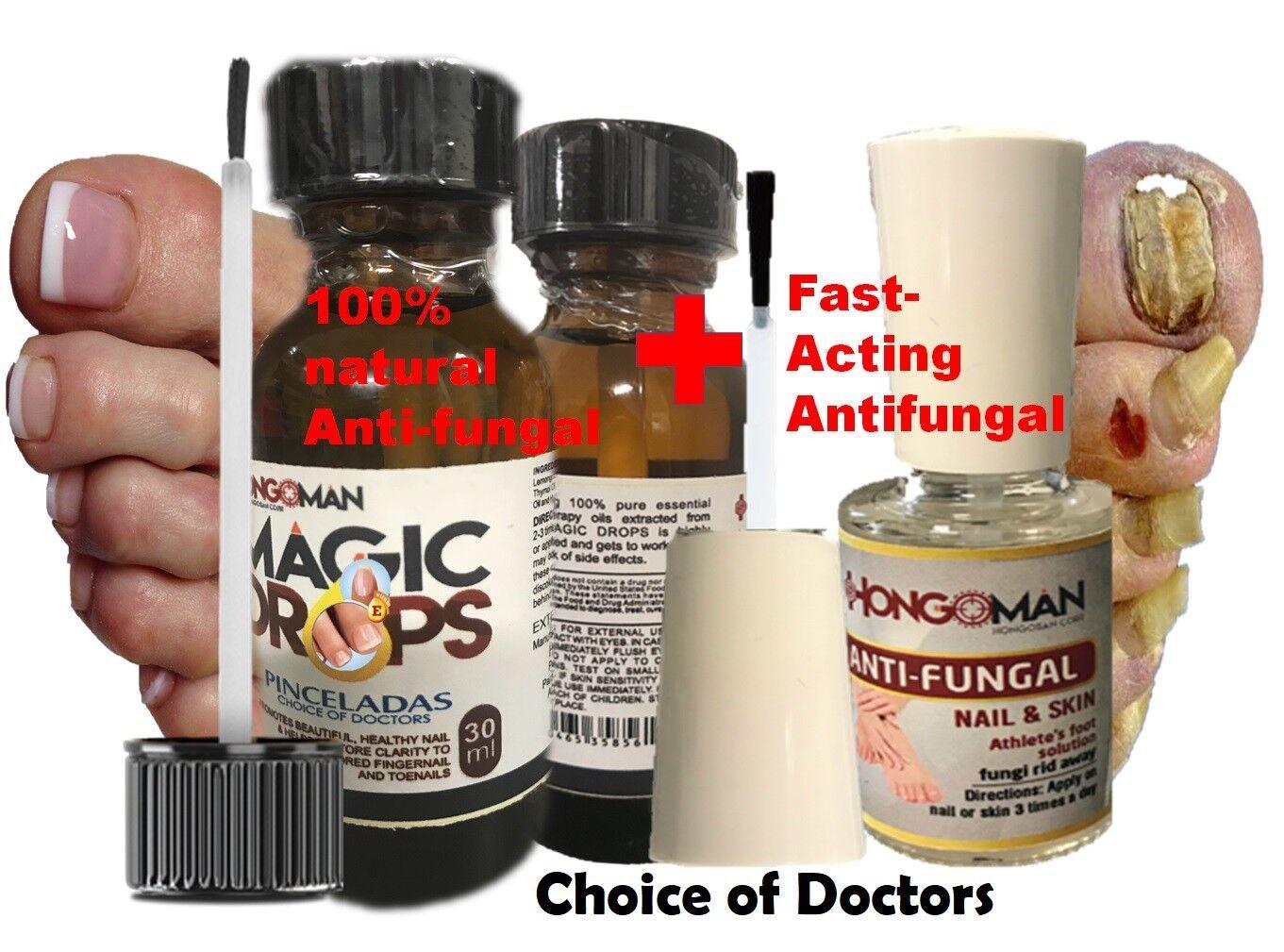 Loción Antihongos Tratamiento Antimicótico Para Infecciones Hongos Uñas piel kit 2