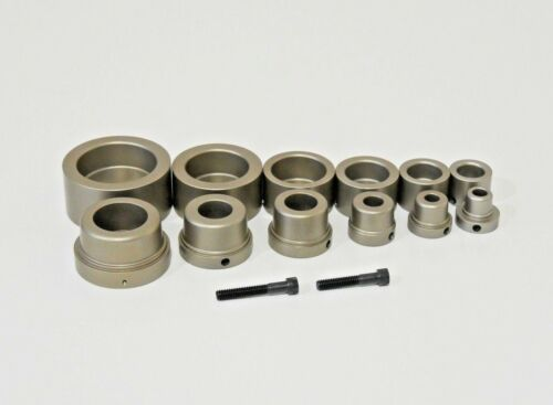 """IPS Fusion Socket Set for PE HDPE Pipes (1/2"""" to 2"""") - 6 Pcs - Geothermal Pipe"""