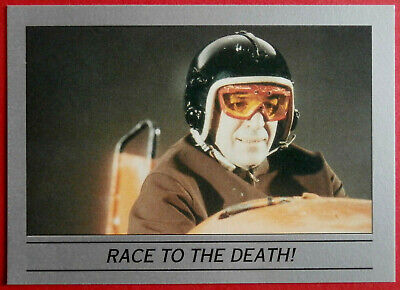 ON HER MAJESTY'S SECRET SERVICE - Card #50 - RACE TO THE DEATH! - Eclipse 1993