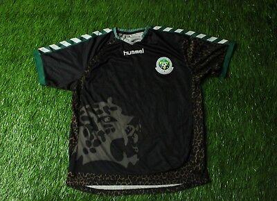 ZANZIBAR NATIONAL TEAM 2011/2013 RARE FOOTBALL SHIRT JERSEY HOME HUMMEL ORIGINAL image