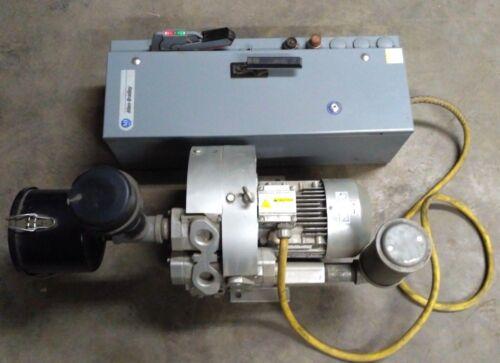 Airtech 3BA7320 Vacuum/Pressure Regenerative Blower, Allen Bradley 512-BDCD