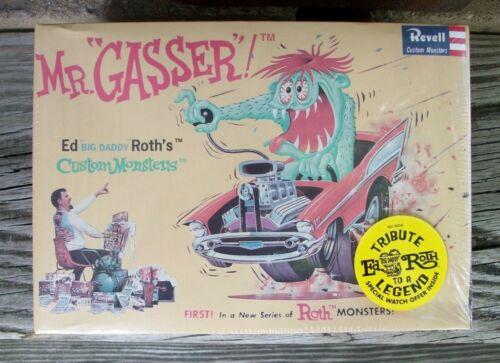 Revell Ed Big Daddy Roth Mr Gasser Hot Rod Monster Model Kit 2001 Ratfink