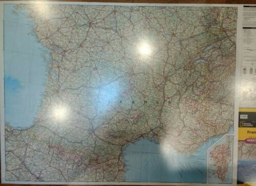 France Laminated Wall Map (K)