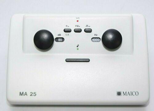 Maico MA 25 Portable Auctiometer Audio Screening System 125-8000Hz
