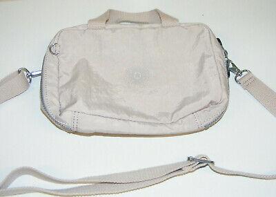 Kipling Lunch Bag Beige khaki 10x7x3 shoulder