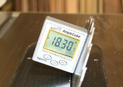 Igaging Angle Cube Digital Protractor Gauge Magnetic Angle Level Sensor Bevel