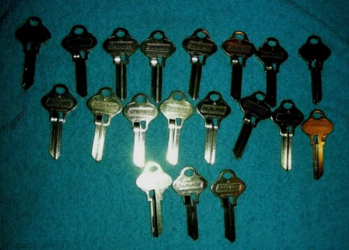 Schlage 35-270 Everest S123 6 Pin Original  (19 ) Pieces New Factory Key Blanks