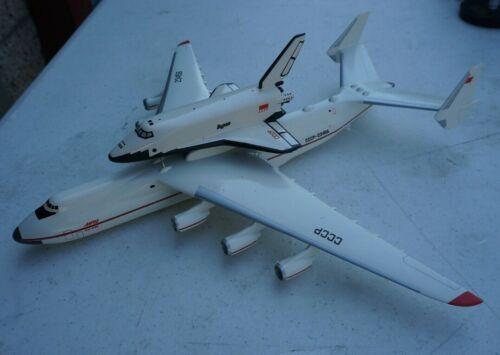 VINTAGE SOVIET RUSSIAN CCCP BURAN AN-225 SPACEPLANE SPACE SHUTTLE MODEL MRIYA