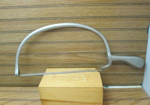 Vintage Antique Amputaton Bone Saw AESCULAP Medical Surgical Dental Tool