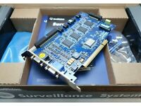 works for black! Geovision GV 600 GV 650 GV 800 D-Type Pigtail Cable Blue