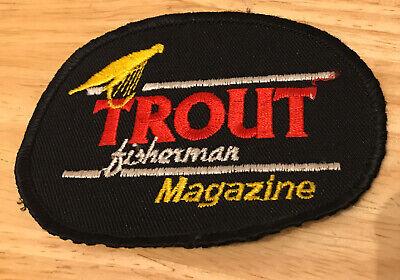 Trout Fisherman Magazine Patch Fishing