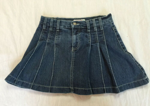 XHILARATION STRETCH JEANS GIRLS SKIRT SKORT WITH BUILT SHORTS SIZE L