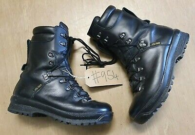 British Army Issue Goretex Pro/Para/Cadet ECW Vibram Sole Boots Size 9L UK #954