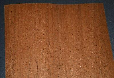 Mahogany Raw Wood Veneer Sheets 5 X 24 Inches 142nd   6602-7
