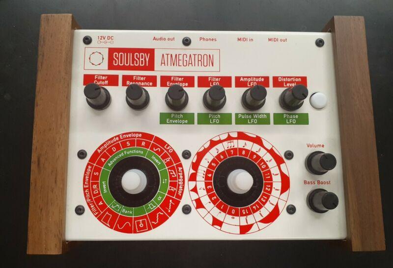 Soulsby Atmegatron (8 Bit Synth) Synthesizer