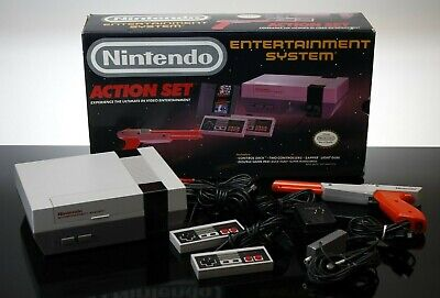 Nintendo Entertainment System NES Action Set Console in Original Box Nice!