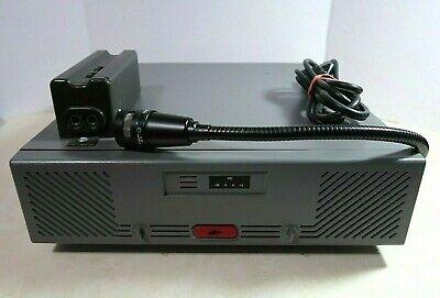 Motorola Centracom Gold Radio Dispatch Console B1822b W Shure Vr-300 Microphone