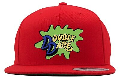 Red Double Dare Costume Logo Snapback Hat - Double Dare Costume