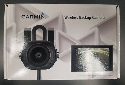 BC 30 Wireless Back-Up Camera for Select Garmin GPS - Black + Free Extension