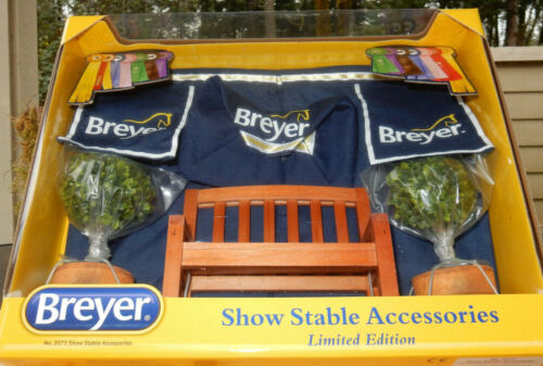 Breyer Limited Edition Show Stable Accessories 2020
