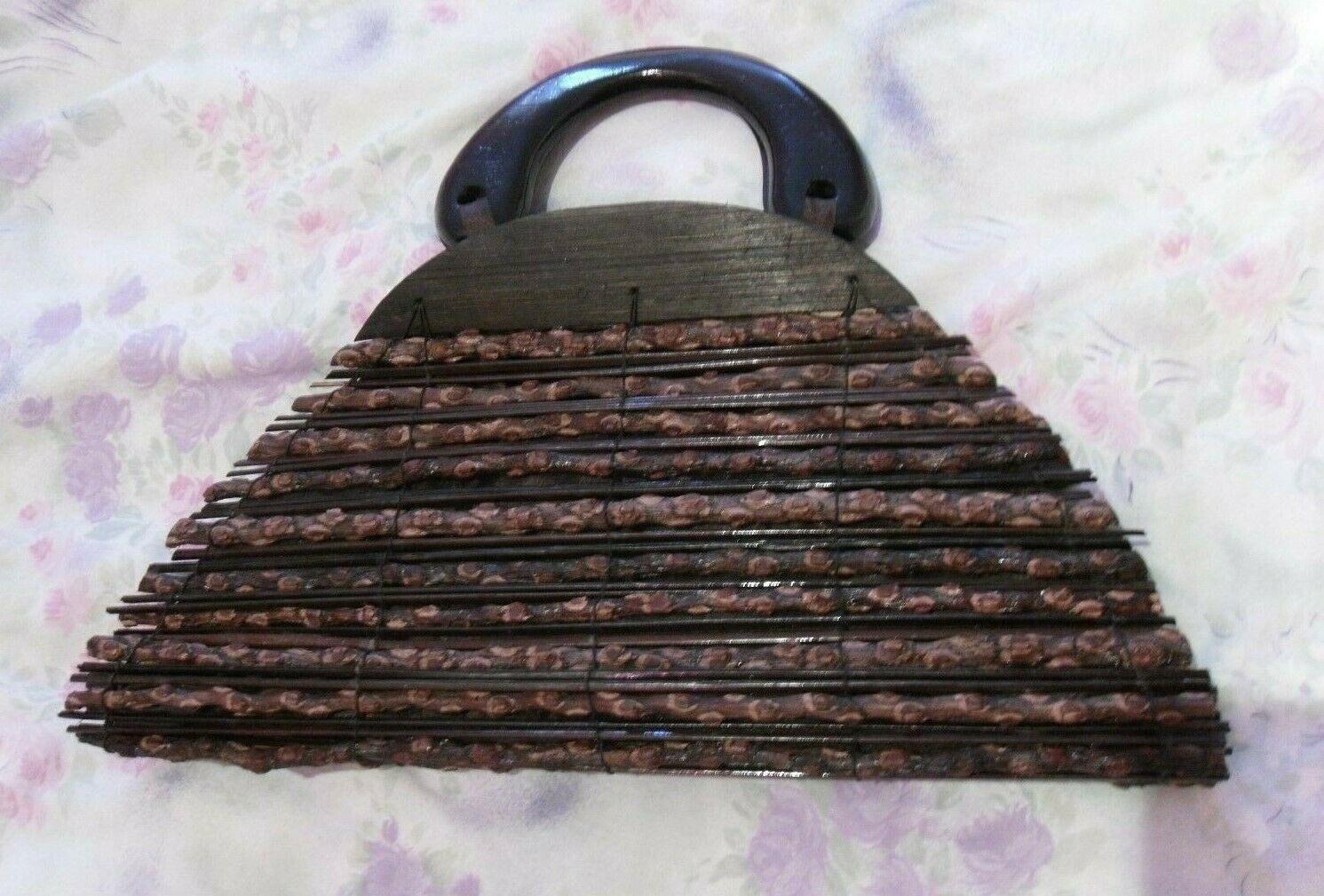 Tolle Handtasche, Henkeltasche aus Holz