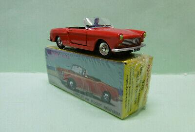 dinky 528 cabriolet 404 peugeot pininfarina siège arrière rouge superbe état
