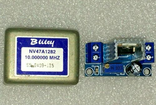 Bliley NV47A1282 10MHz Sine Wave OCXO Crystal Oscillator  +5V  Easy Kit EFC