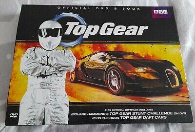 Top Gear Stunt Challenge Official DVD & Daft Cars Book Stig, Hammond...